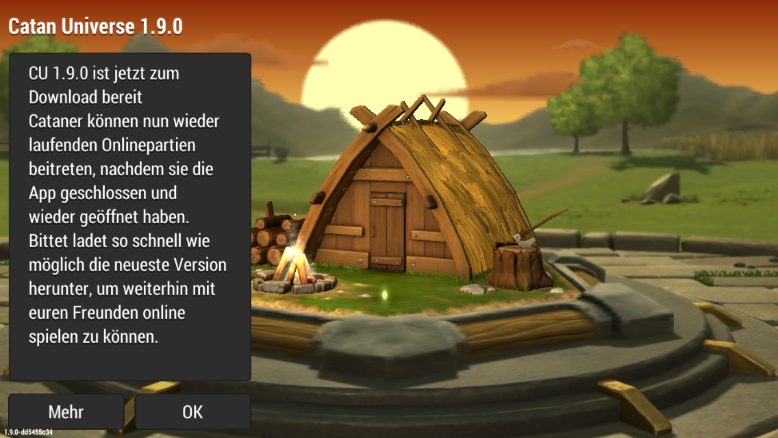 Catan Universe Patch 1.9.0