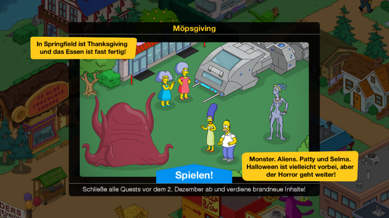 TSTO: Möpsgiving Event